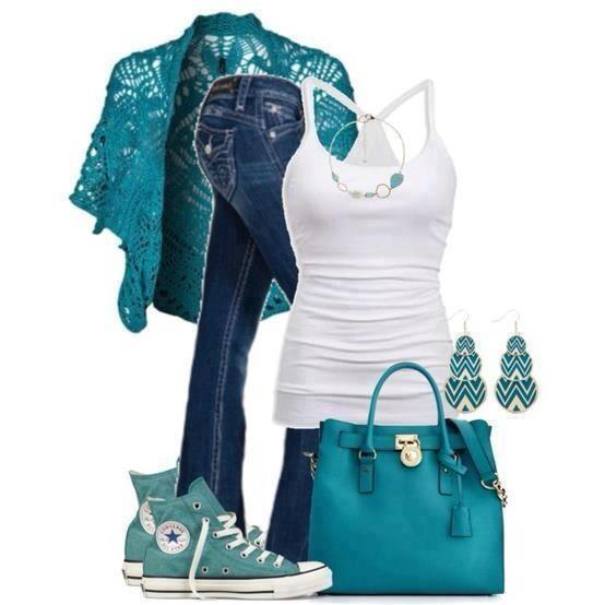 Turquoise is always a winner