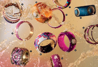 Rings for Africa… spice up your serene girl image with some vivacious rings